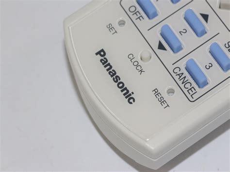 Remote Ac Panasonic Original panasonic genuine air conditioner remote a75c2841