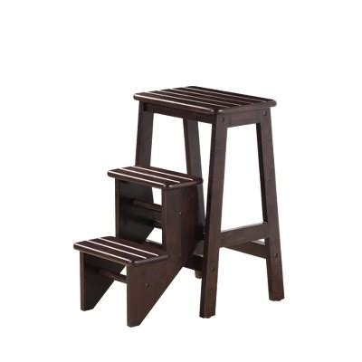 baby step stool target 24 quot boraam industries folding step stool cappuccino