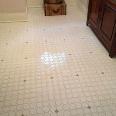 glass dot insert wall tile retro inspired octagon and dot bathroom floor tile work