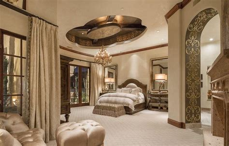 Ideas For Bathroom Decor mediterranean style master bedroom with dome ceiling and