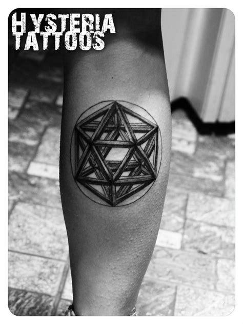 tattoo 3d geometric 3d tattoo geometric leg my tattoo gallery