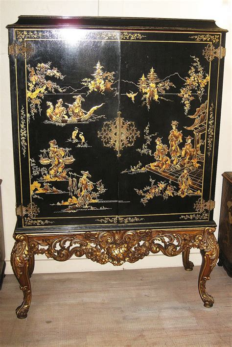 japanese black lacquer cabinet elegant chinese black lacquer and gilt cabinet from