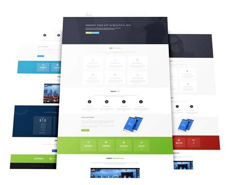 wt app responsive joomla landing template