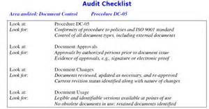 Iso 9001 Work Template by Sle Audit Work Papers Excel Images