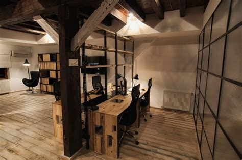Rustic Office by Home Office Design The Rustic Home Office Design