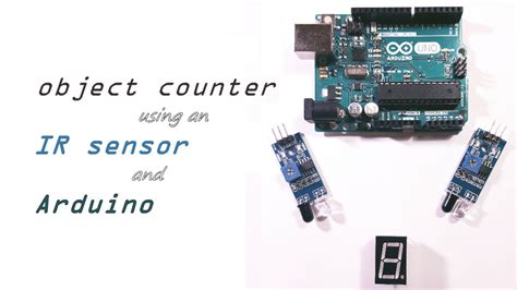 using an an object counter using an ir sensor and arduino play