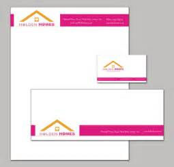 Business Card Letterhead Envelope Sizes Company Branding Stationary Set With A Letterhead Envelope