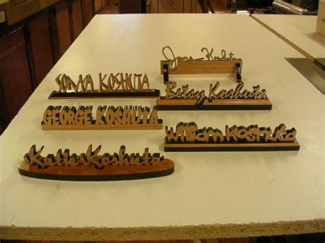 custom desk name plates hand crafted personalized desk name plates by larue