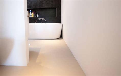gietvloer geschikt voor badkamer pu gietvloeren 187 een functionele vloer met een moderne look