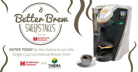 Drive Alert Master Better Than Coffee by Contest Alert Get Better Brew With Grindmaster Tundra