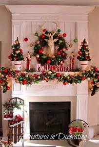 Mantel Decorating Ideas For Christmas 40 Wonderful Christmas Mantel Decorations Ideas All