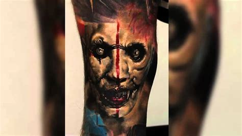 black and grey zombie tattoo zombie 3d tattoos best horror tattoo designs youtube