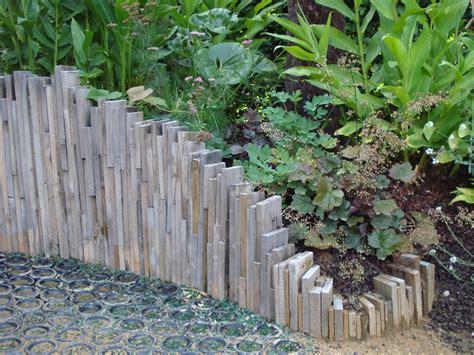originale bordure jardin