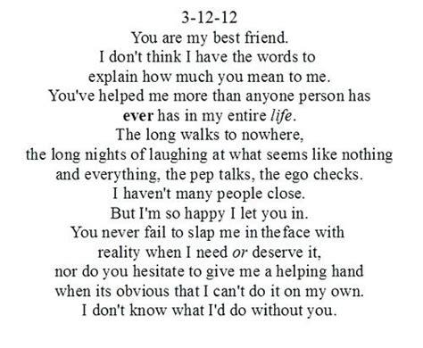 Birthday Letter To Best Friend