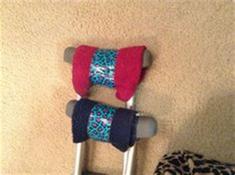 how to make crutches more comfortable crutch pads on pinterest crutches sprain and tie dye