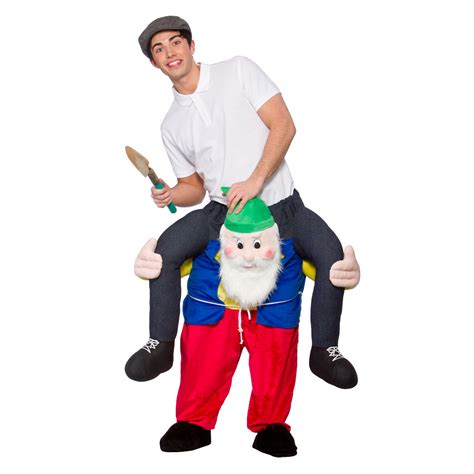 Gardener Costume by Garden Gnome Carry Me Costume Dunbar Costumes