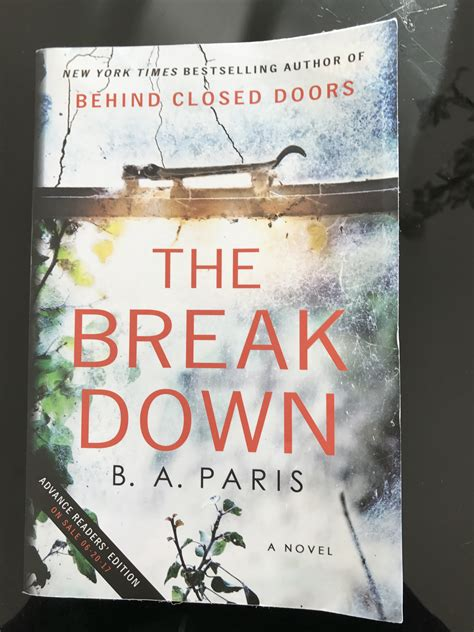 think for myself books the breakdown by b a book review
