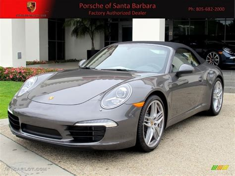 grey porsche 911 2012 agate grey metallic porsche new 911 carrera s