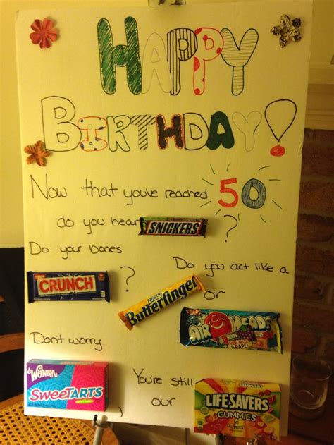 Homemade Poster  Ee  For Mom Ee  S  Ee  Th Ee    Ee  Birthday Ee   Party Gifts