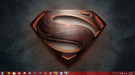 themes for windows 7 superman dc comics super heroes theme packs for windows 7