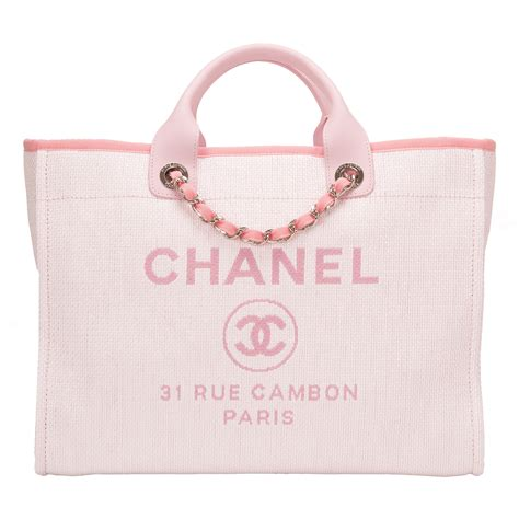 Chanel Deauville Shopping Tote Bags 972 chanel pink canvas large deauville shopping tote bag