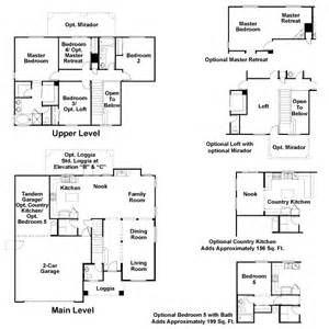 Richmond American Home Floor Plans Ladera Canyon In Summerlin By Richmond American Homes
