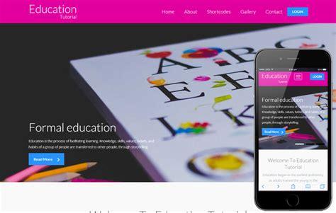 tutorial bootstrap flat design education tutorial a educational category flat bootstrap