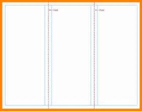 free blank tri fold brochure templates 3 free blank tri fold brochure templates resumed