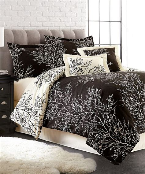 zulily bedding look at this black ivory foliage six piece comforter set
