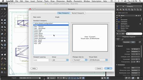 create layout viewport autocad autocad for mac creating layout viewports youtube