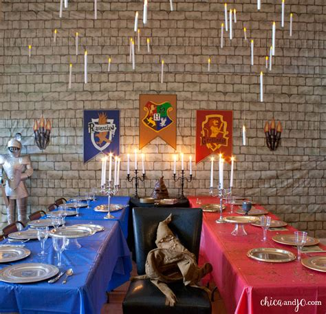 harry potter decorations harry potter party chica and jo