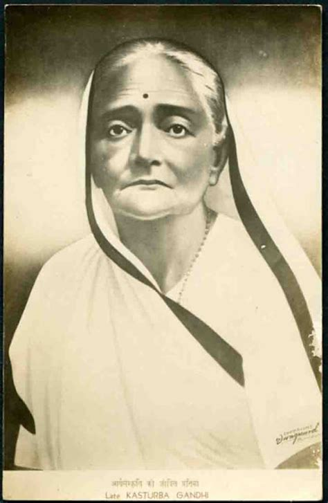 biography of kasturba gandhi in english oneday1thought women freedom fighters for india