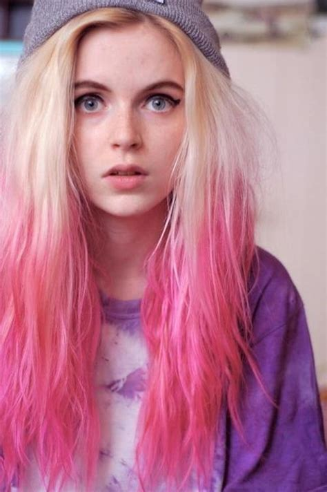 blondehairstyles with redpink in 2014 modern ombre hairstyles women styler