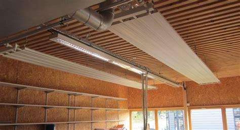 chauffage radiant plafond exemple panneau rayonnant a eau chaude pour plafond