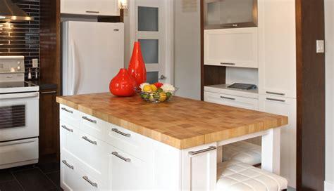 comptoir de cuisine en bois giroux wraste
