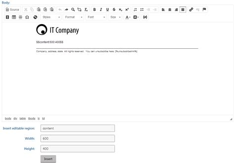 preparing email caign templates kentico 8 2