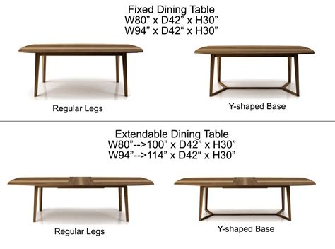 Dining Table Types Dining Table Types Peenmedia