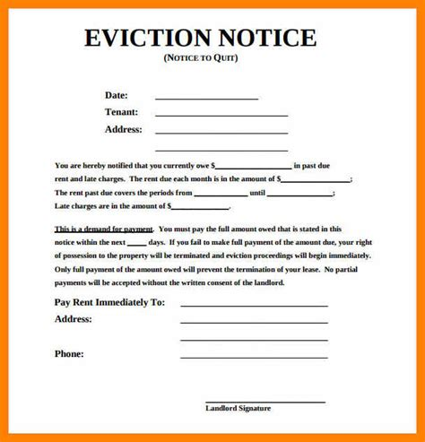 14 day eviction notice template 6 30 day eviction notice template 3canc