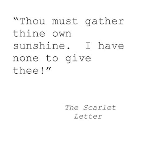 Scarlet Letter Character Quotes Pearl The Scarlet Letter