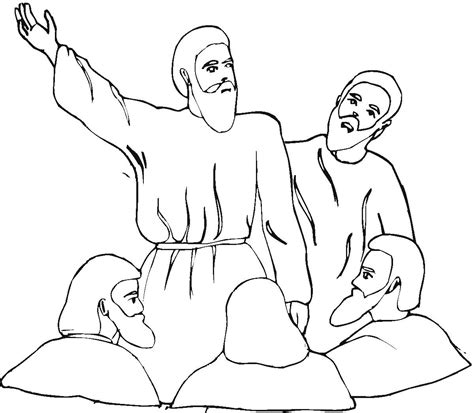 Isaiah 6 Coloring Page by Paul Talk To Free Colouring Pages