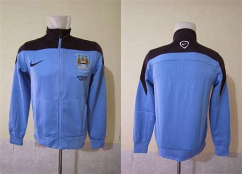 New Jaket Polos Biru Blue fabre sport