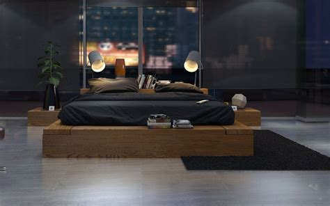 minimalistic bed minimalist bedroom interior design ideas
