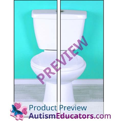 Bathrrom Iep Goals Free Bathroom Visual Schedule For Boys