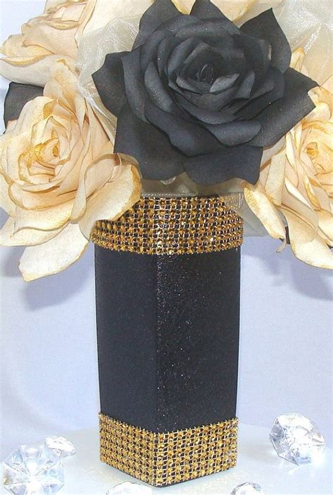 black and silver centerpiece ideas 1000 ideas about 50th birthday centerpieces on