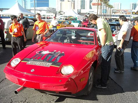 adam savage car backwards porsche pictures mythbusters porsche