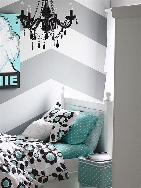 Decorating Ideas For Girls Bedroom chevron pattern craze how to pull it off at home