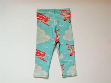 Legging Ctr Boys 6 13 organic cotton retro airplane modern baby