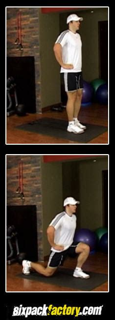 lunge best hamstring exercises