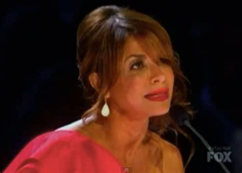 Paula Abdul Has A Meltdown paula abdul s meltdown on x factor the baller