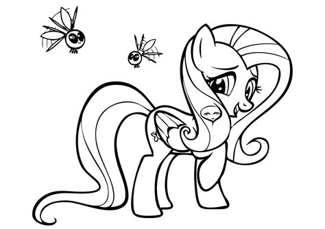 cute unicorn coloring page free my little pony unicorn